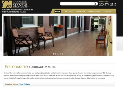 Carriage-manor-website