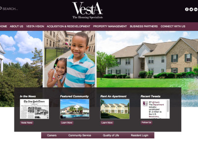 Vesta-Website