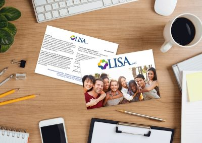 Lisa Inc. Postcard